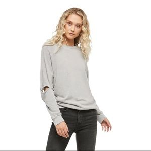 Project Social T Rias Twist Sleeve Sweatshirt